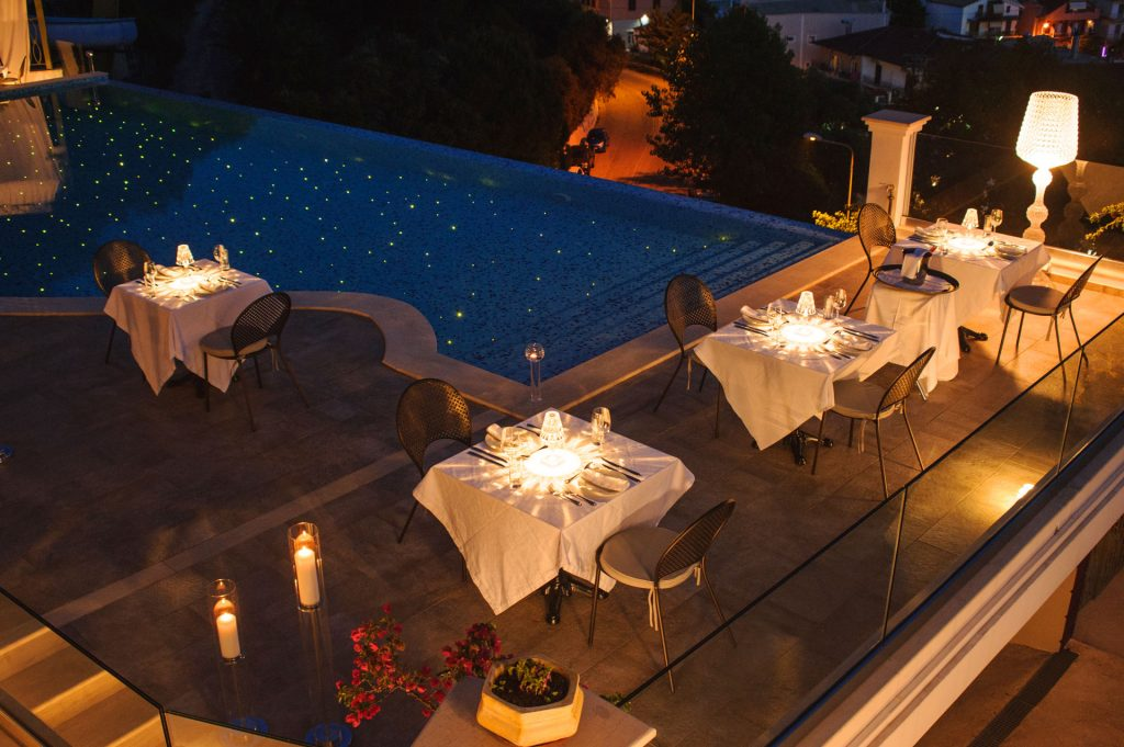 Irida Boutique Hotel Dinner by the Pool 6